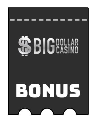 Latest bonus spins from Big Dollar Casino