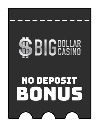 Big Dollar Casino - no deposit bonus CR