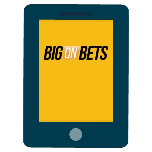 Big on Bets Casino - Mobile friendly
