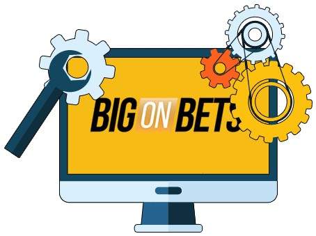 Big on Bets Casino - Software
