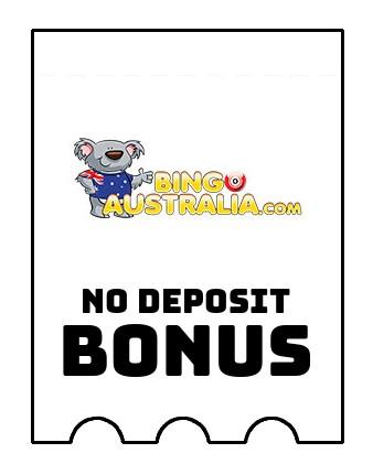Bingo Australia - no deposit bonus CR