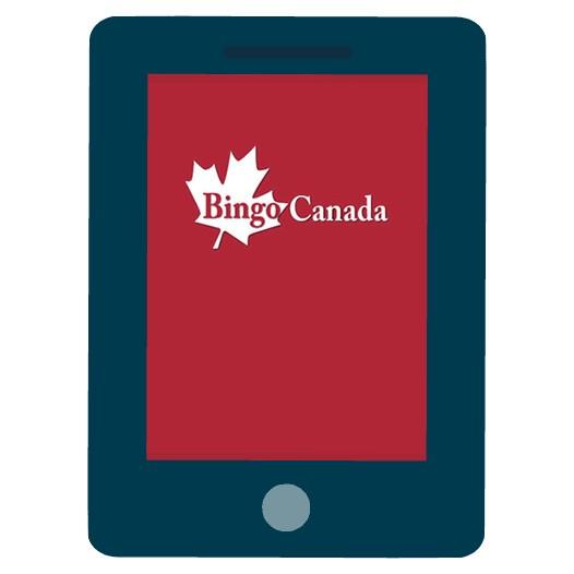 Bingo Canada - Mobile friendly