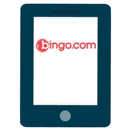 Bingo com - Mobile friendly