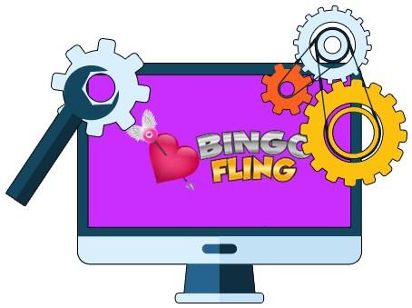 Bingo Fling - Software