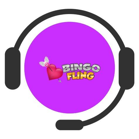 Bingo Fling - Support