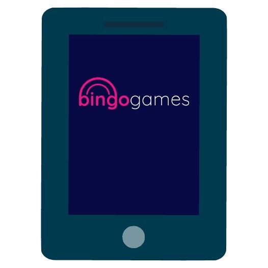 Bingo Games - Mobile friendly