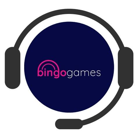 Bingo Games - Support