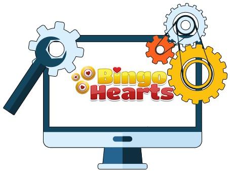 Bingo Hearts Casino - Software