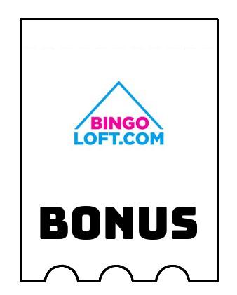 Latest bonus spins from Bingo Loft Casino
