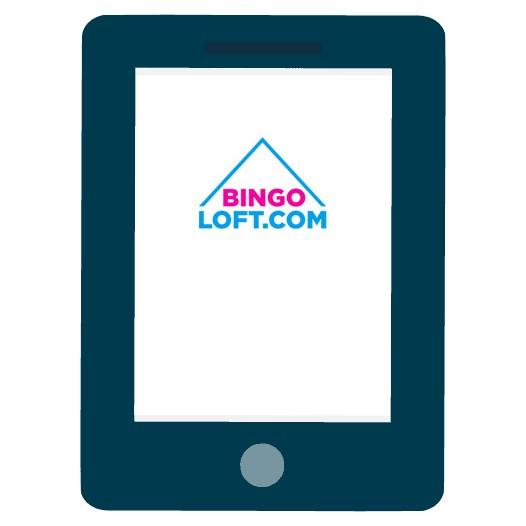 Bingo Loft Casino - Mobile friendly