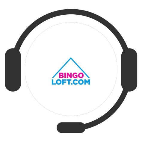 Bingo Loft Casino - Support