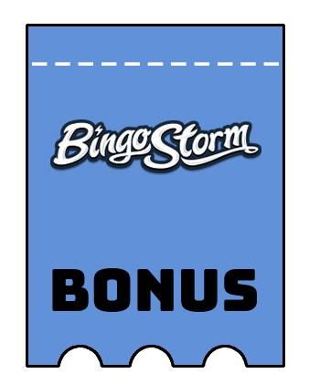 Latest bonus spins from Bingo Storm