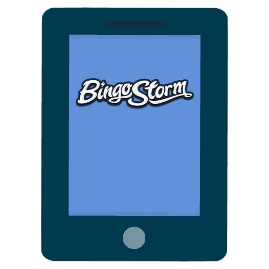 Bingo Storm - Mobile friendly