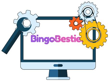 BingoBesties Casino - Software