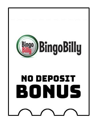 BingoBilly Casino - no deposit bonus CR