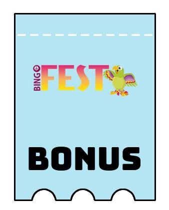 Latest bonus spins from BingoFest Casino