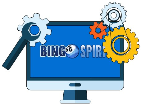 BingoSpirit Casino - Software