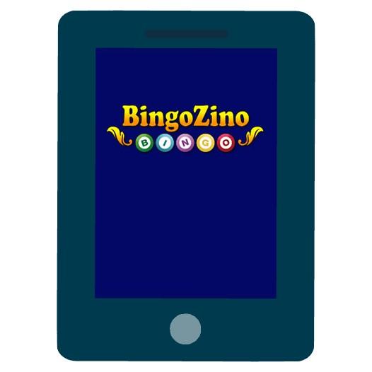 BingoZino Casino - Mobile friendly
