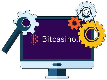 Bitcasino - Software