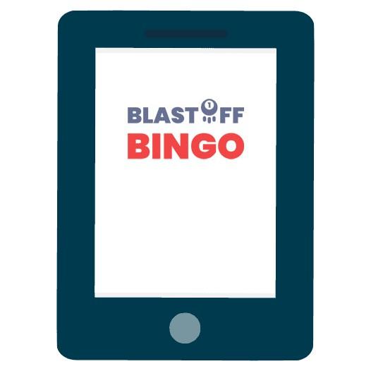 Blastoff Bingo - Mobile friendly