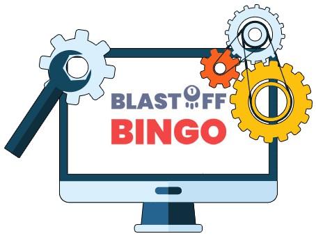 Blastoff Bingo - Software