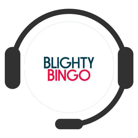 Blighty Bingo Casino - Support