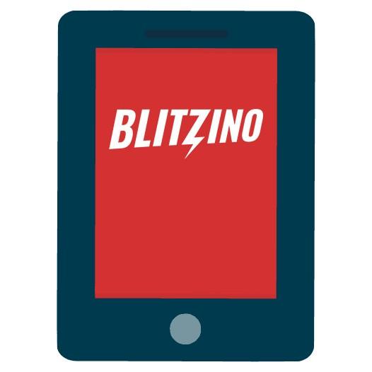 Blitzino Casino - Mobile friendly