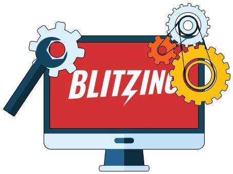 Blitzino Casino - Software