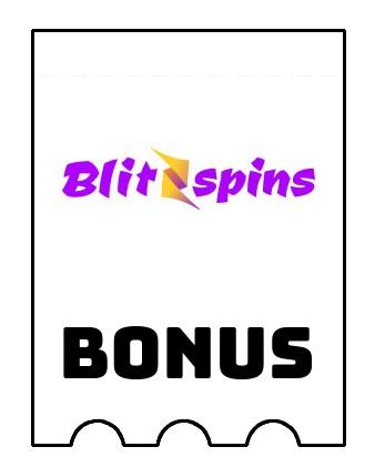 Latest bonus spins from Blitzspins