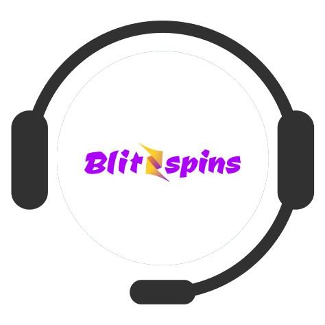 Blitzspins - Support