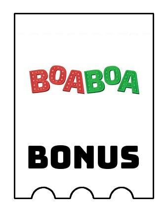 Latest bonus spins from Boaboa Casino