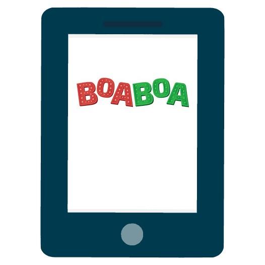 Boaboa Casino - Mobile friendly