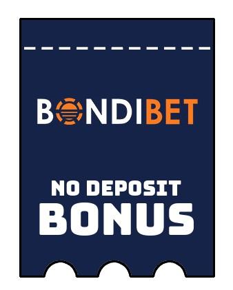 BondiBet - no deposit bonus CR