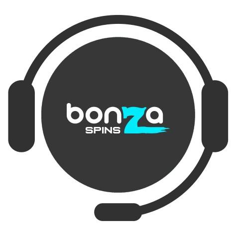 Bonza Spins Casino - Support