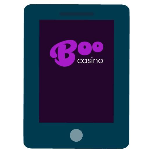 BooCasino - Mobile friendly