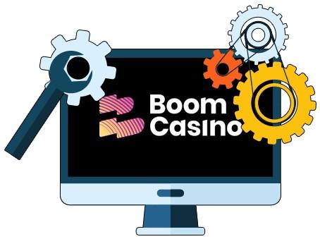 Boom Casino - Software