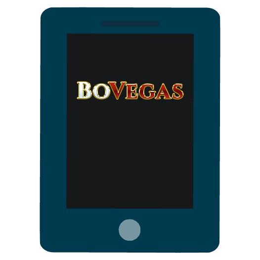 BoVegas Casino - Mobile friendly