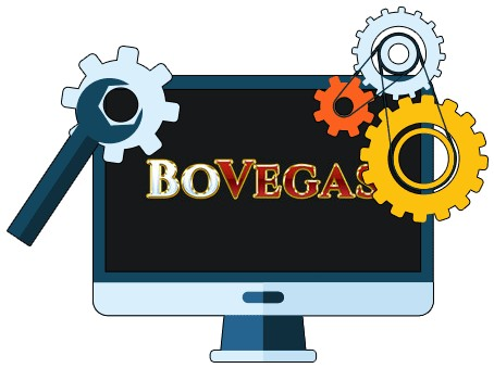 BoVegas Casino - Software