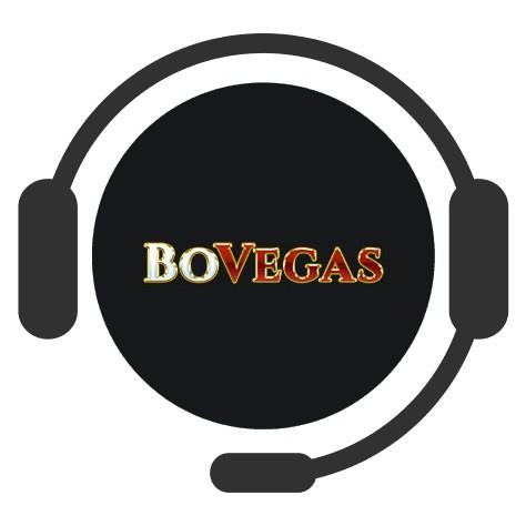 BoVegas Casino - Support