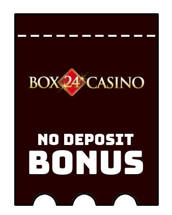 Box 24 Casino - no deposit bonus CR