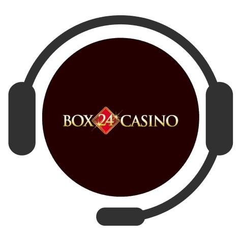 Box 24 Casino - Support