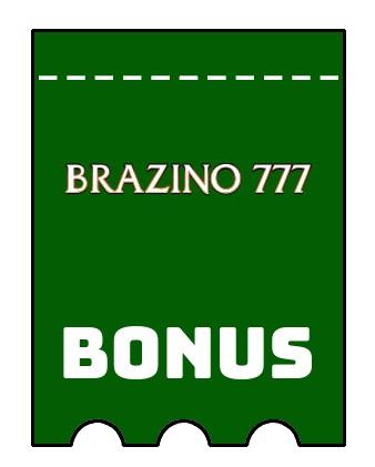 Latest bonus spins from Brazino777