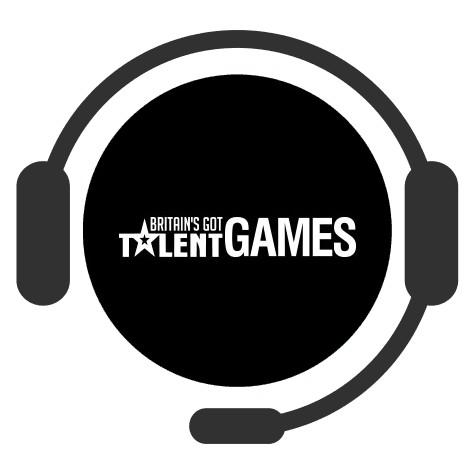 Britains Got Talent Games Casino - Support