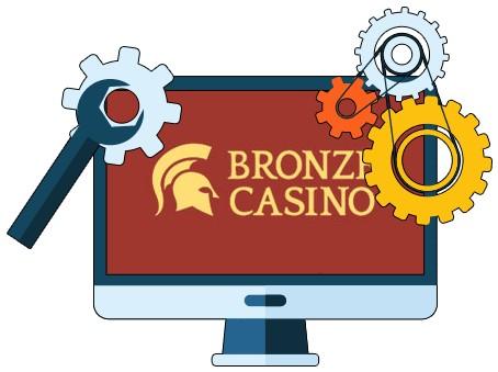 Bronze Casino - Software