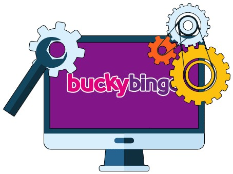 Bucky Bingo Casino - Software