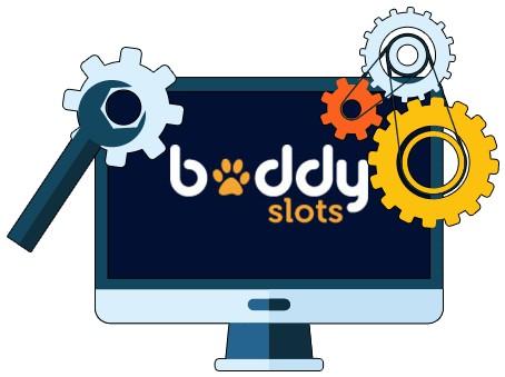 Buddy Slots Casino - Software