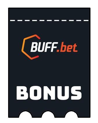 Latest bonus spins from Buff bet