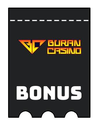 Latest bonus spins from Buran Casino
