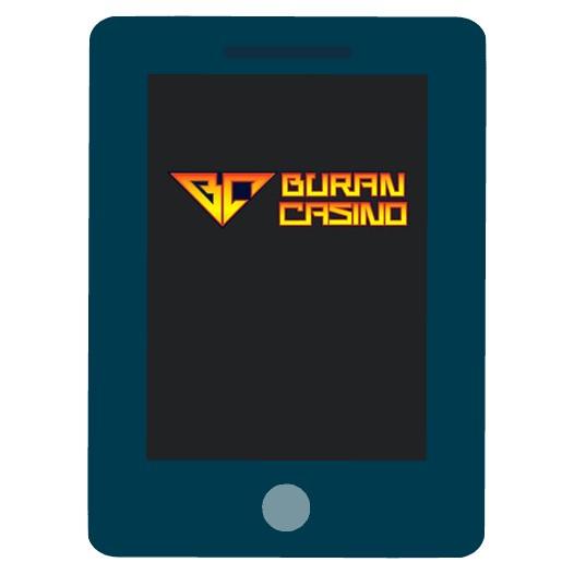 Buran Casino - Mobile friendly