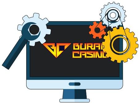 Buran Casino - Software